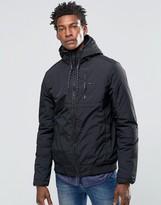 Hilfiger Denim Hooded Jacket In Black
