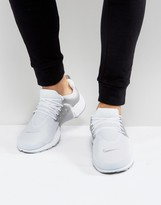 Nike Air Presto Trainers In White 848187-101
