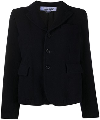Comme des Garçons Comme des Garçons Long-Sleeved Buttoned Up Blazer