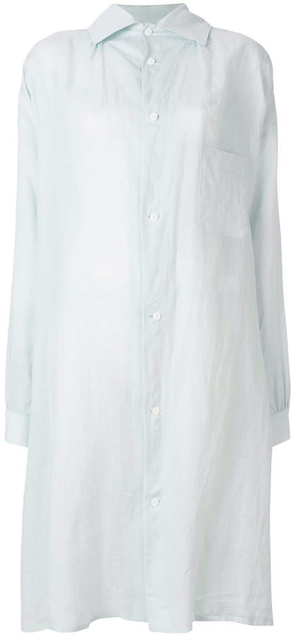Y's long-line oversized shirt