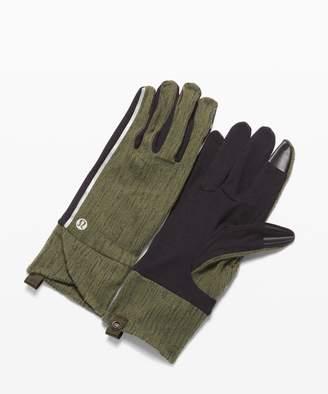Lululemon Cross Chill Run Gloves