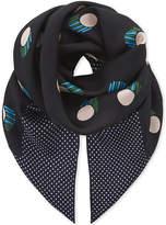 Diane von Furstenberg Casan square silk scarf