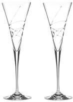 Lenox Stemware, Adorn Toasting Flutes, Set of 2