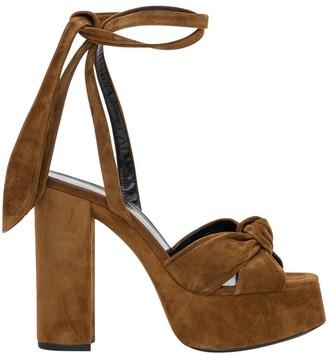Saint Laurent Sandals With Ankle Straps