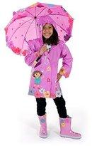 Kidorable Dora The Explorer Raincoat WITH Umbrella (2T) by