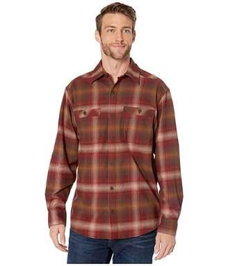 Wolverine Grayson Stretch Long Sleeve Flannel Shirt