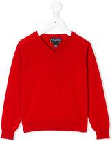 Oscar De La Renta Kids V-neck jumper