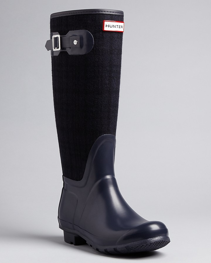 Hunter Rain Boots - Allayna Flannel