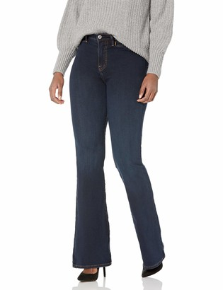 True Religion Women's Tall Size High Rise Trouser Flare