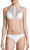Zimmermann Zephyr Two-Piece Bonded Lace Bikini Top & Bottom