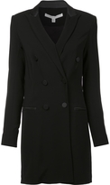 Veronica Beard Fitted Double Breasted Coat