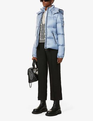 Moncler Fourmi funnel-neck shell-down jacket