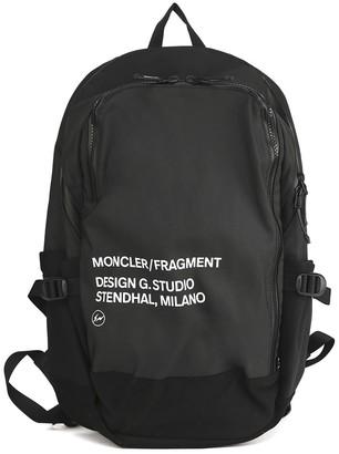 MONCLER GENIUS Black Nylon Backpack 7 Moncler Fragment Hiroshi Fujiwara