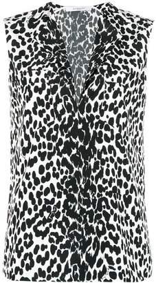 Givenchy Split Neck Blouse
