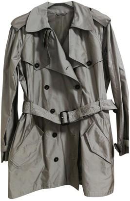 Prada Grey Trench Coat for Women