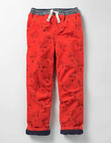 Boden Lined Cord Pull-on Trousers