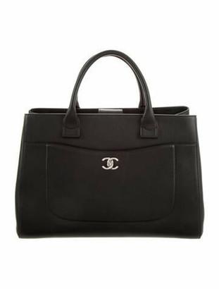 Chanel Medium Neo Executive Shopping tote Black