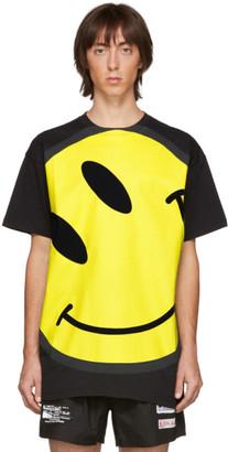 Raf Simons Black Smiley Oversized T-Shirt