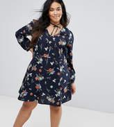Junarose Swing Floral Skater Dress