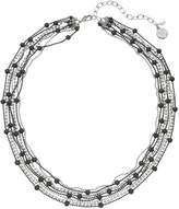 Dana Buchman Two Tone Beaded Multi Strand Necklace