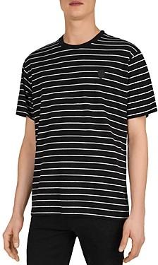 The Kooples Striped Logo T-Shirt