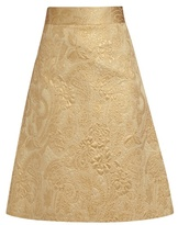 RED Valentino A-line brocade skirt