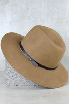 LuLu*s Close to Home Taupe Hat