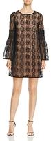 MICHAEL Michael Kors Lace Bell-Sleeve Dress
