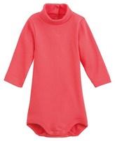 Petit Bateau Unisex baby roll neck cotton bodysuit