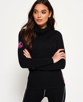 Superdry Merino Cowl Neck Base Layer Top