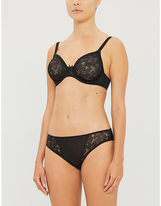 Maison Lejaby June moulded lace underwired bra