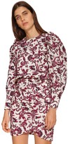 BA&SH Rym Floral Printed Cotton Shirt