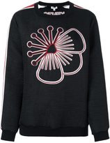 Kenzo embroidered flower sweatshirt - women - Polyester - S