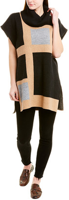 BCBGMAXAZRIA Cowl Neck Wool-Blend Sweater