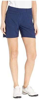 adidas Club 5 Solid Shorts (Night Indigo) Women's Shorts