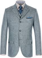 Gibson Men's Blue Denim Look Jacket