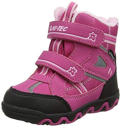 a00c2208f10 Blizzard Child Girls High Rise Hiking Boots, Pink(Pink 76), 8 (27 EU)