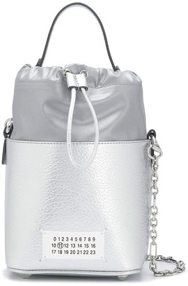 Maison Margiela Metallic Bucket Bag