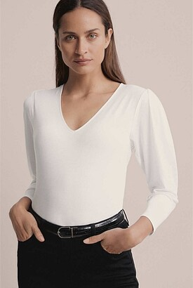 Witchery Sleeve Detail Top
