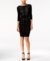Calvin Klein Illusion Knit Sheath Dress