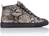 Balenciaga Men's Python Arena High-Top Sneakers