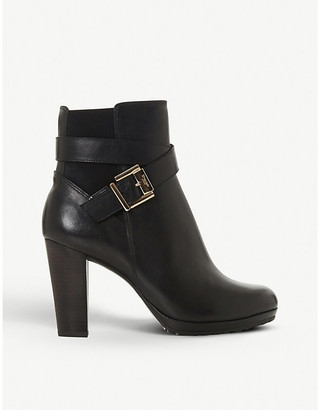 Dune Orrion leather ankle boots