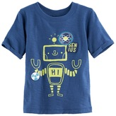 Jumping Beans Baby Boy Jumping Beans® Robot Slubbed Graphic Tee