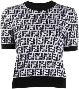 Fendi x Joshua Vides FF short-sleeved jumper