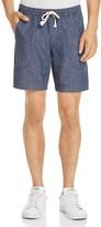 Michael Bastian Chambray Jogger Shorts