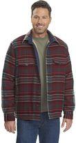 Woolrich Men's Plaid Wool-Blend Sherpa-Lined Jacket