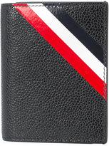 Thom Browne stripe cardholder