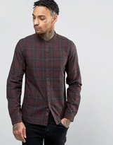 Replay Slim Fit Shirt Dark Check
