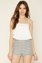 Forever 21 Contemporary Ornate Shorts