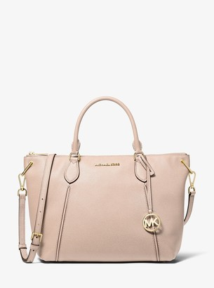 MICHAEL Michael Kors Sierra Large Pebbled Leather Satchel
